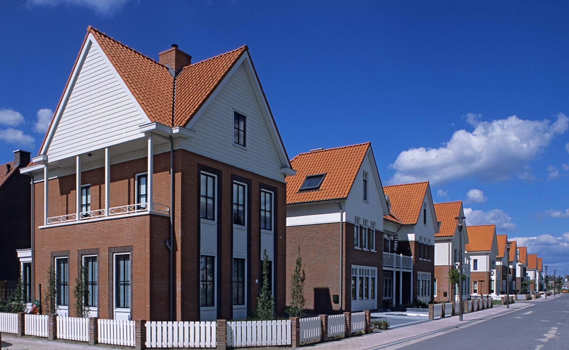 architect woningbouw woningen Brandevoort BBHD architecten chaletstijl
