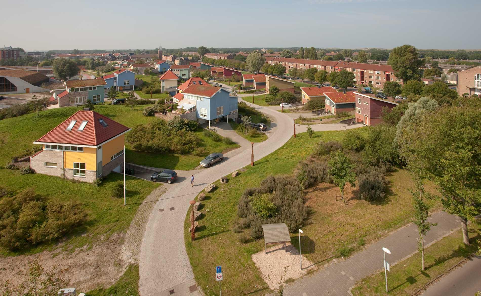 architect woningbouw woningen Duinpark Den Helder herstructurering duinen landschap wonen BBHD architecten