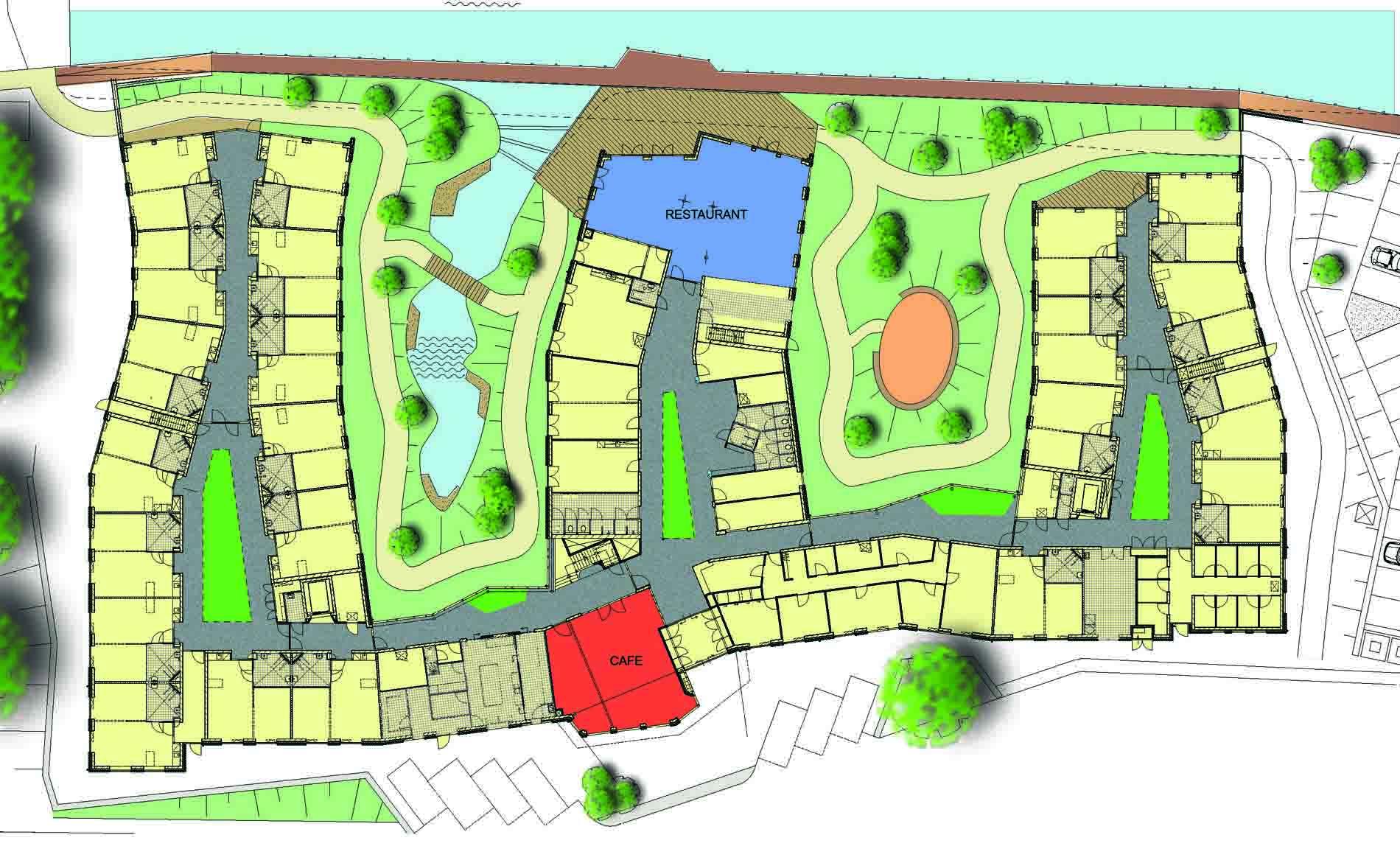 architect zorg seniorenhuisvesting woonzorgcentrum woonzorggebouw Den Helder Groene Vecht Tellus