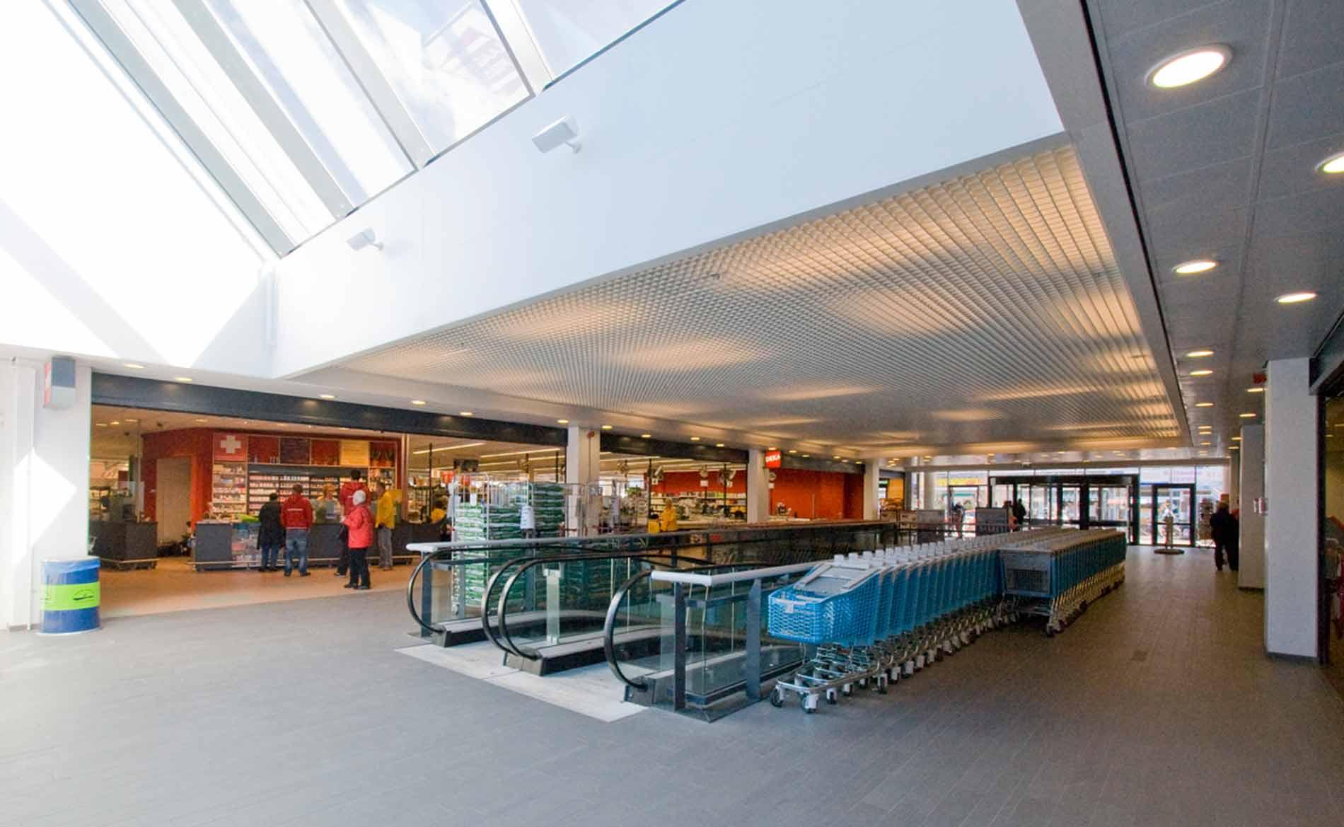 architect supermarkt winkels Multifunctioneel Centrum MFC Duinpark Den Helder BBHD architecten