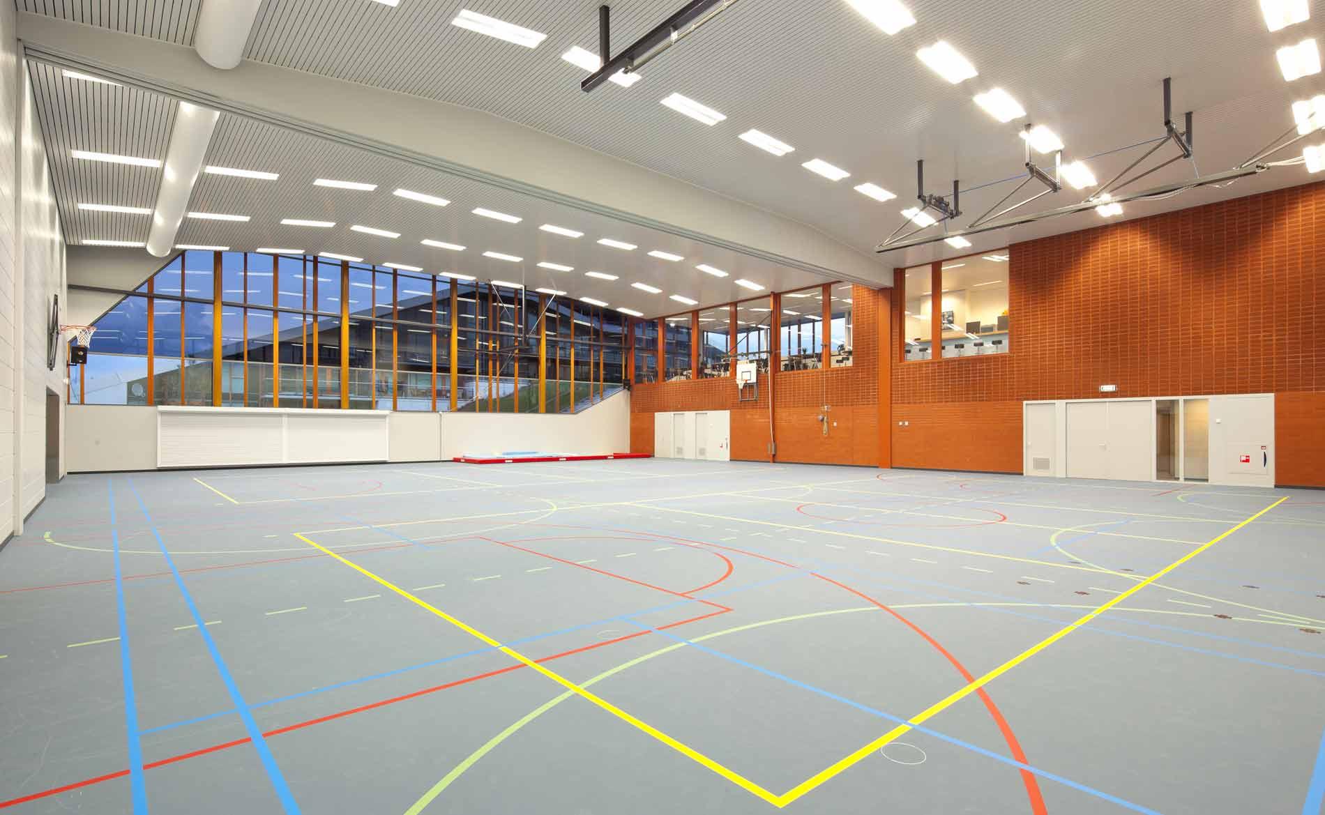 architect sporthal Multifunctioneel Centrum MFC Duinpark Den Helder BBHD architecten