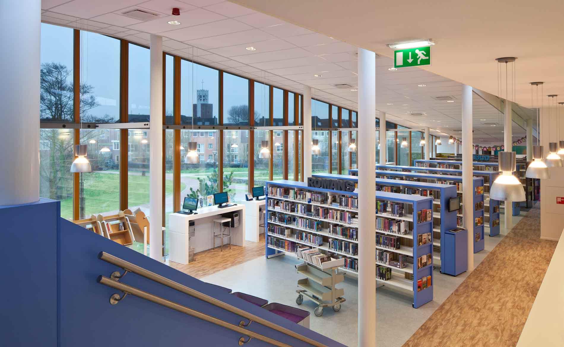 architect bibliotheek Multifunctioneel Centrum MFC Duinpark Den Helder BBHD architecten