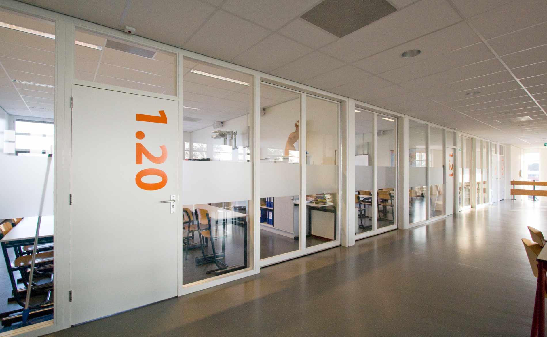 architect scholen praktijkschool renovatie De Viaan Alkmaar BBHD architecten