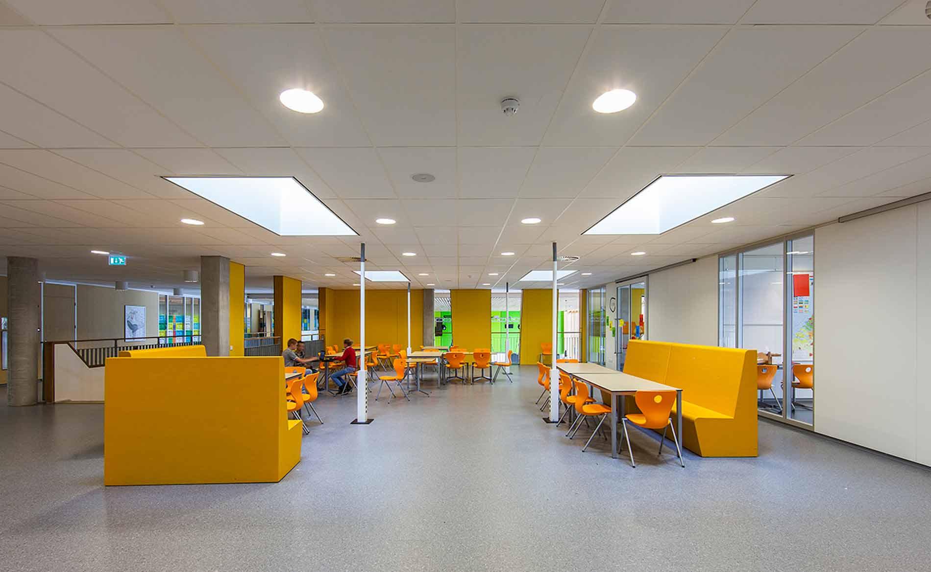 architect scholen VMBO school Houtens Houten BBHD architecten
