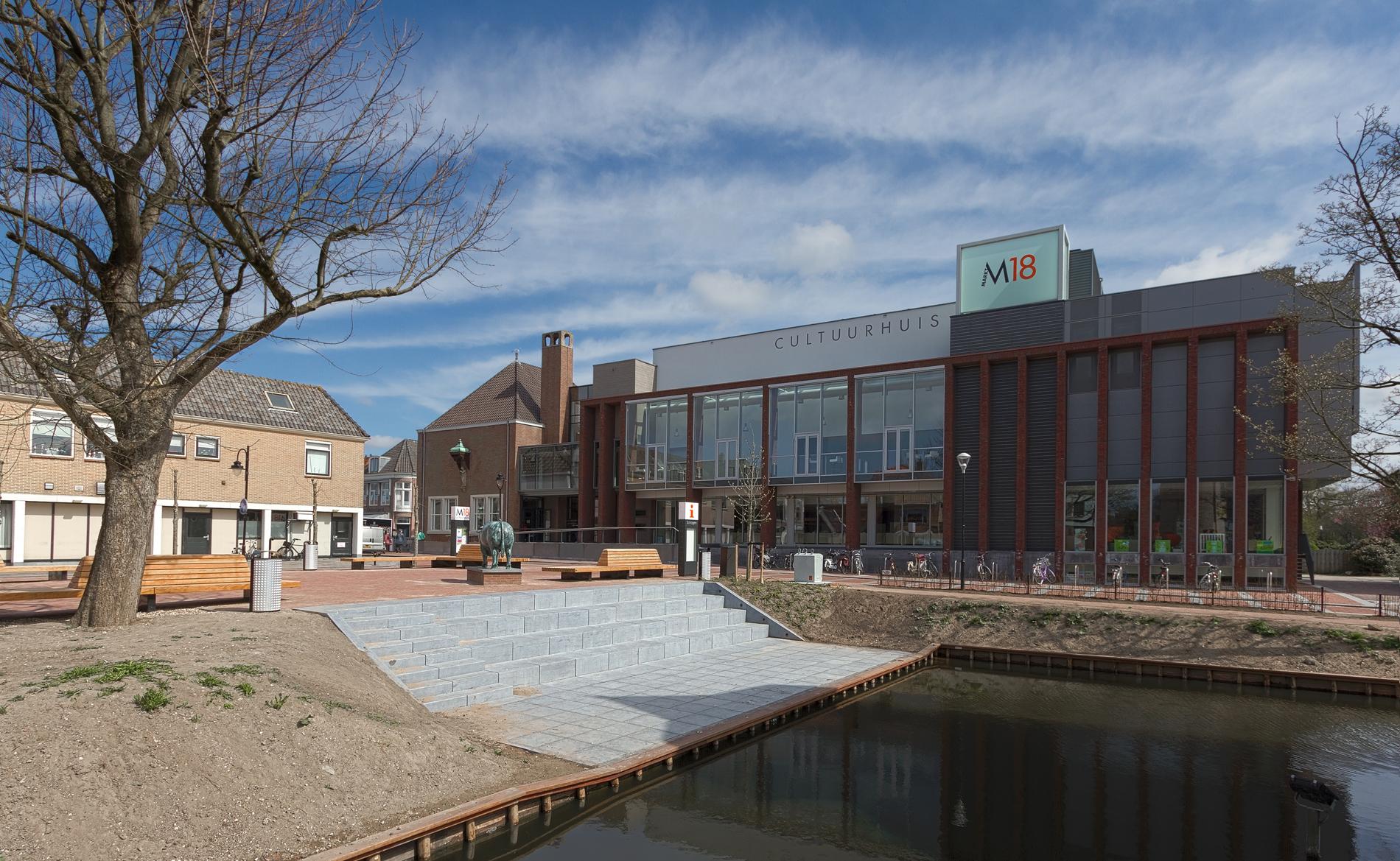cultureel centrum Markt 18 Schagen BBHD architecten Alkmaar architectuur
