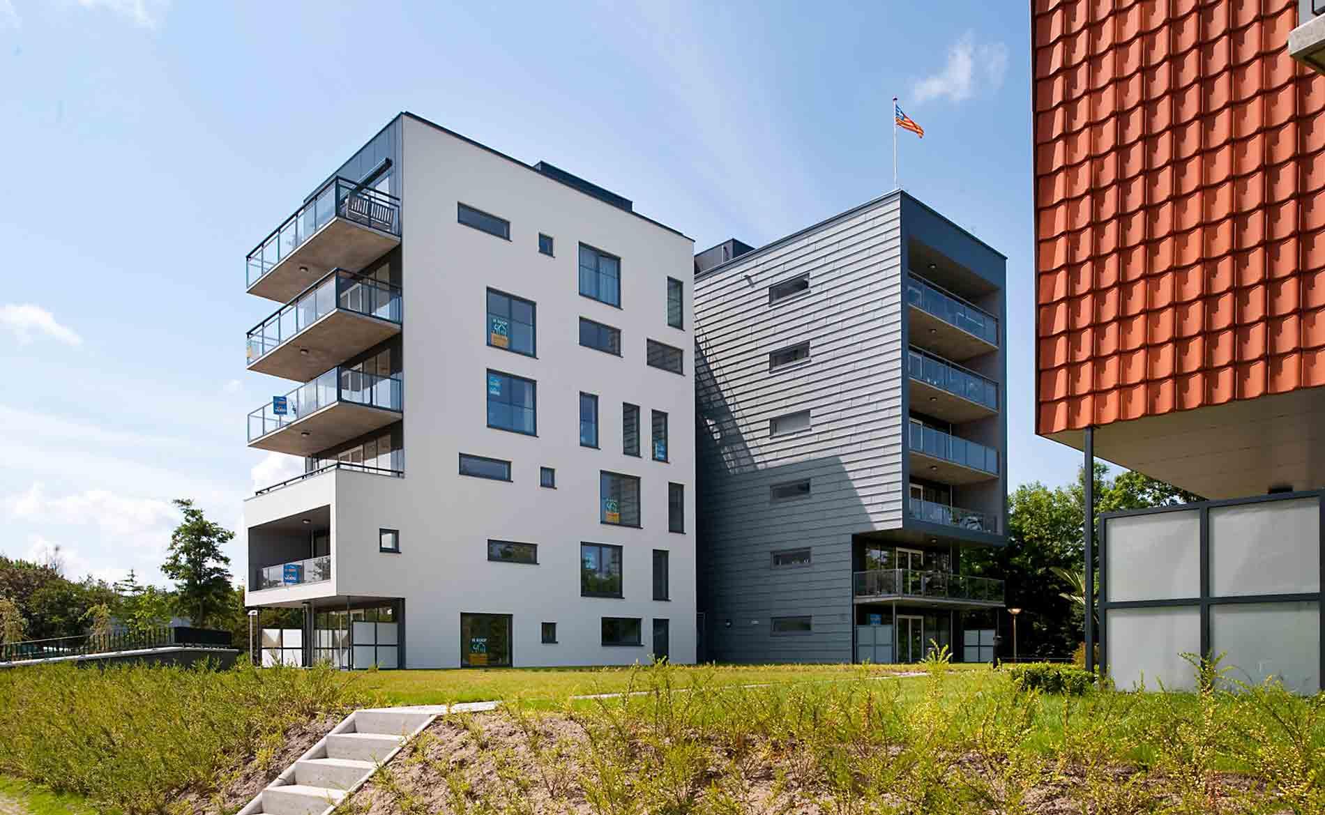 architect appartementen appartementengebouw hoogbouw woningbouw herstructurering Triade Castricum BBHD architecten