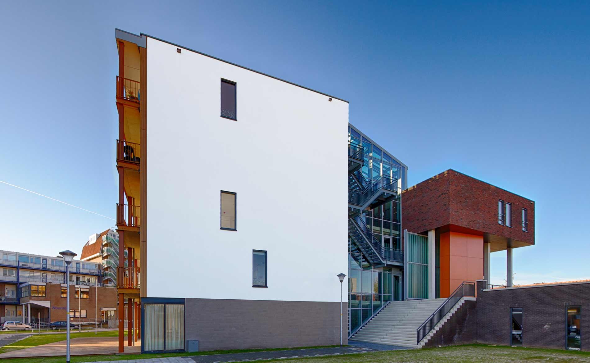 architect seniorenappartementen woningbouw Indische ouderen herstructurering centrum parkeergarage Tjempaka Den Helder BBHD architecten