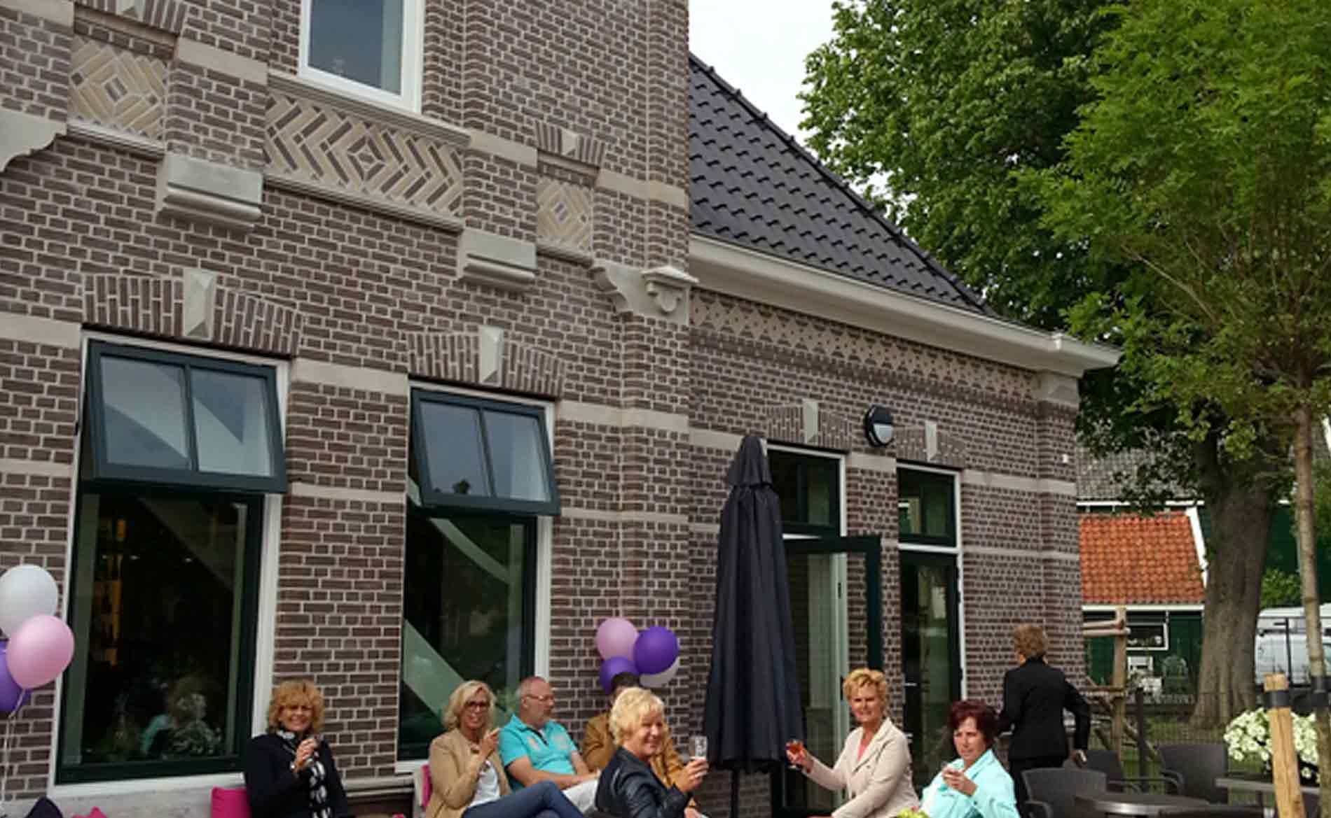 architect MFC dorpshuis school sporthal appartementen Neck BBHD architecten Alkmaar architectuur dorps herstructurering