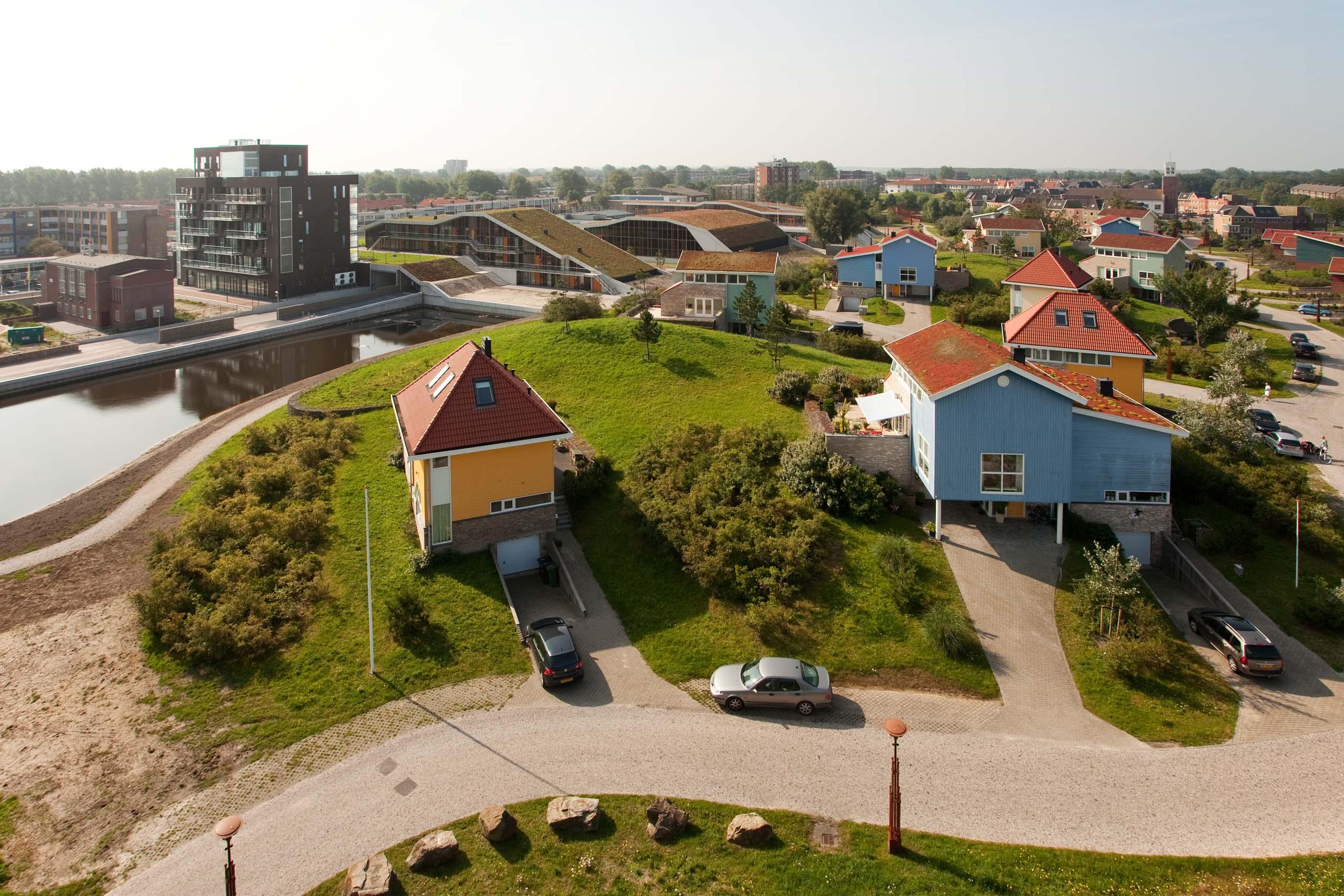 woningbouw woningen duinen park duinpark herstructurering Den Helder