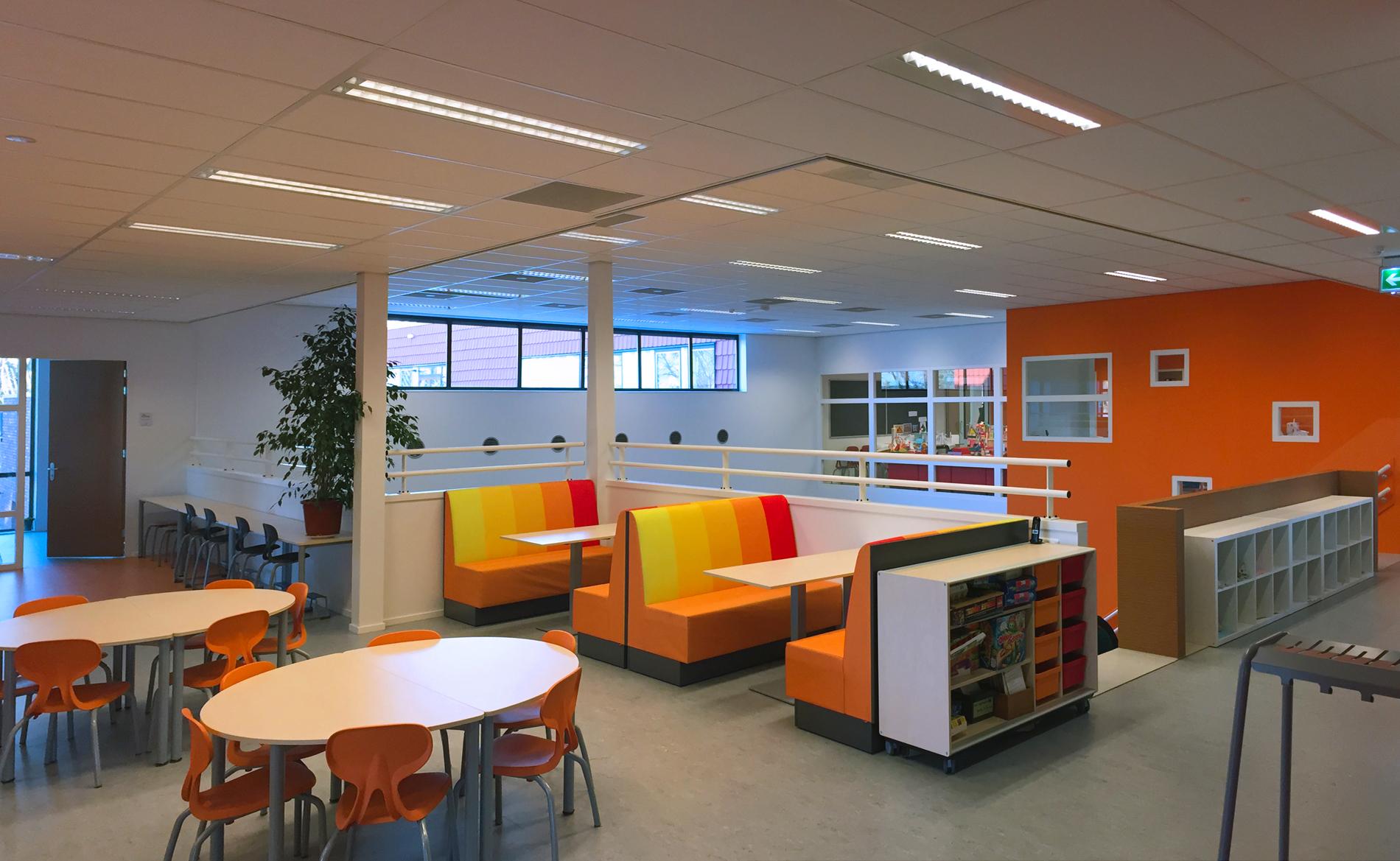 architect scholen onderwijs kinderdagveblijf BSO IKC Het Duet Uithoorn Thamerdal BBHD architecten Alkmaar