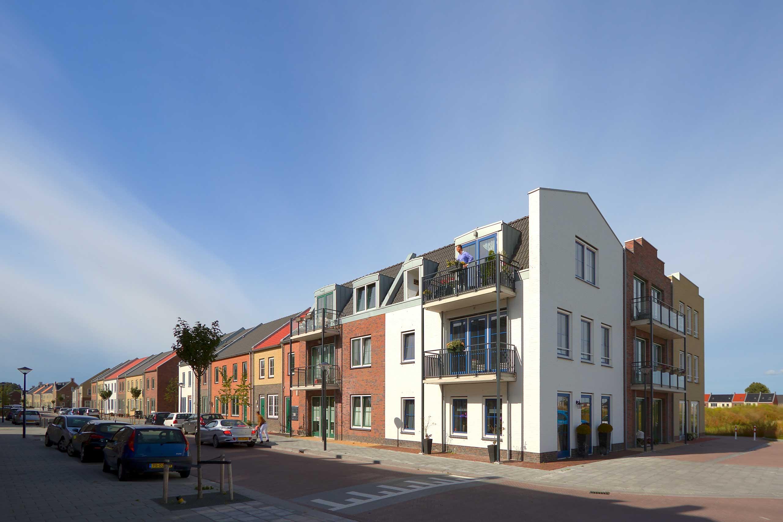 architect woningbouw woningen woningbouw Bangert & Oosterpolder Hoorn architect Ton van 't Hoff dorps bouwen architectuur