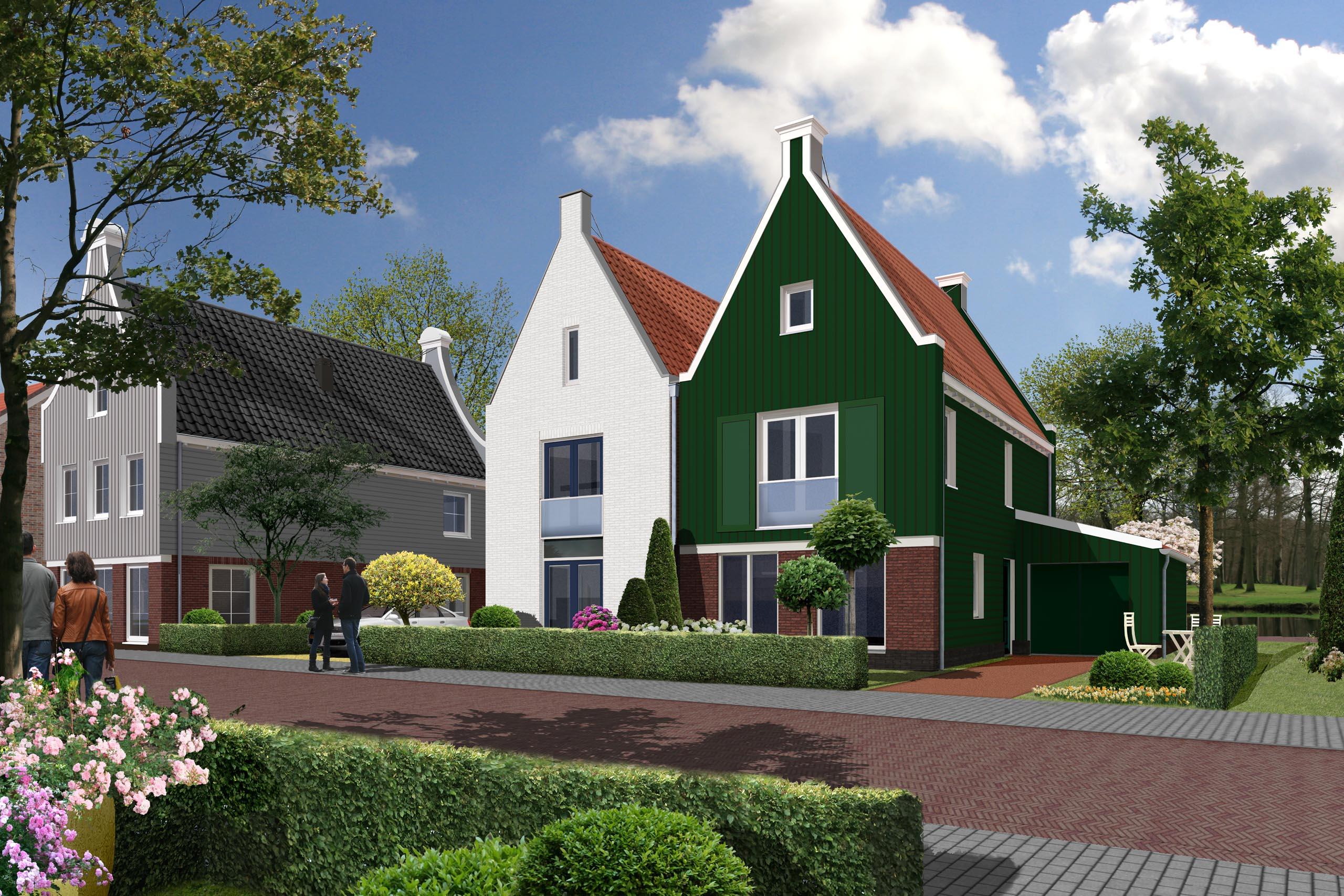 woningbouw woningen De Pauw de Rijp dorps bouwen architect Ton van 't Hoff architectuur