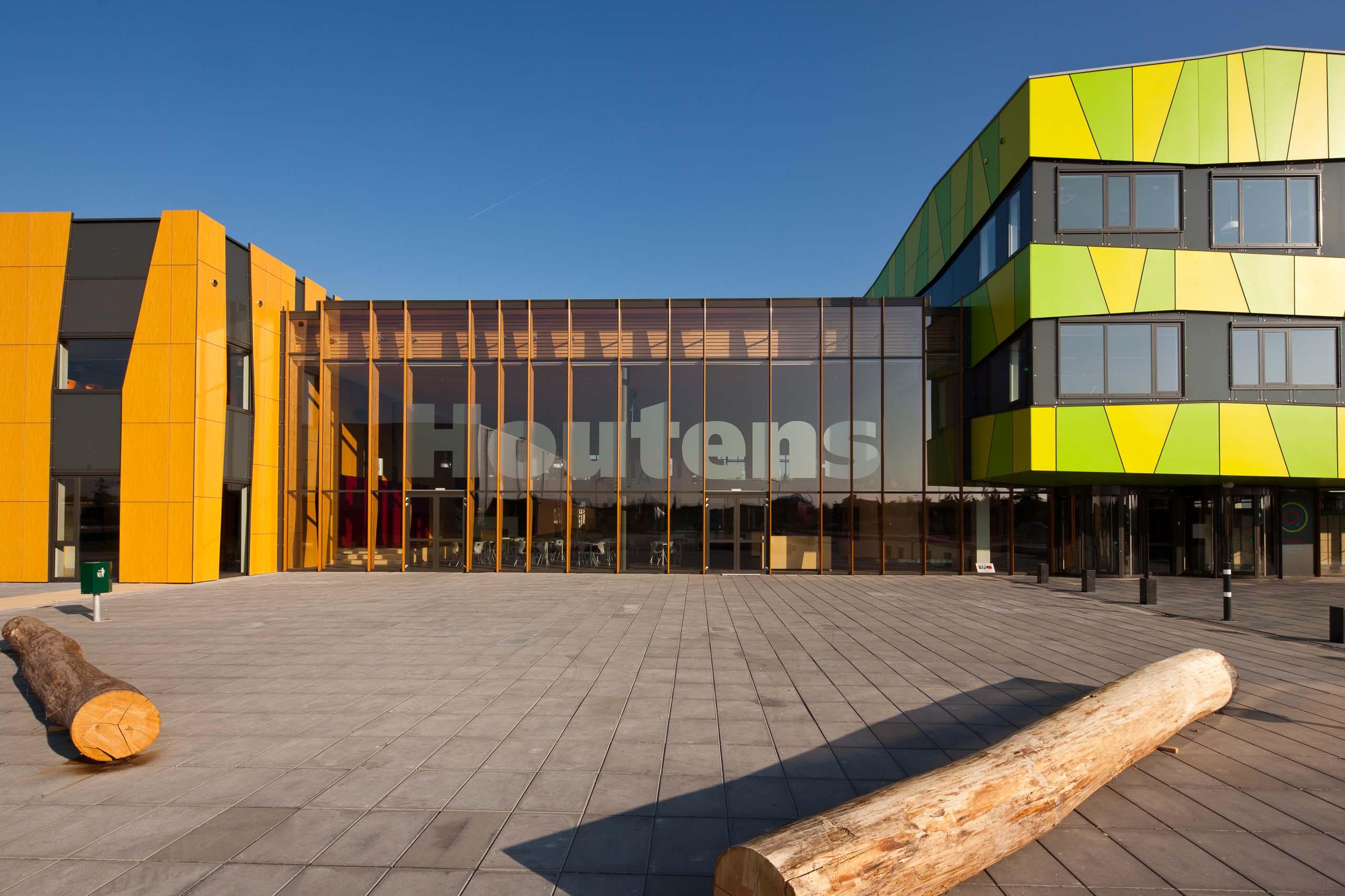 architect scholen onderwijs schoolgebouw VMBO MAVO Het Houtens Houten BBHD architecten