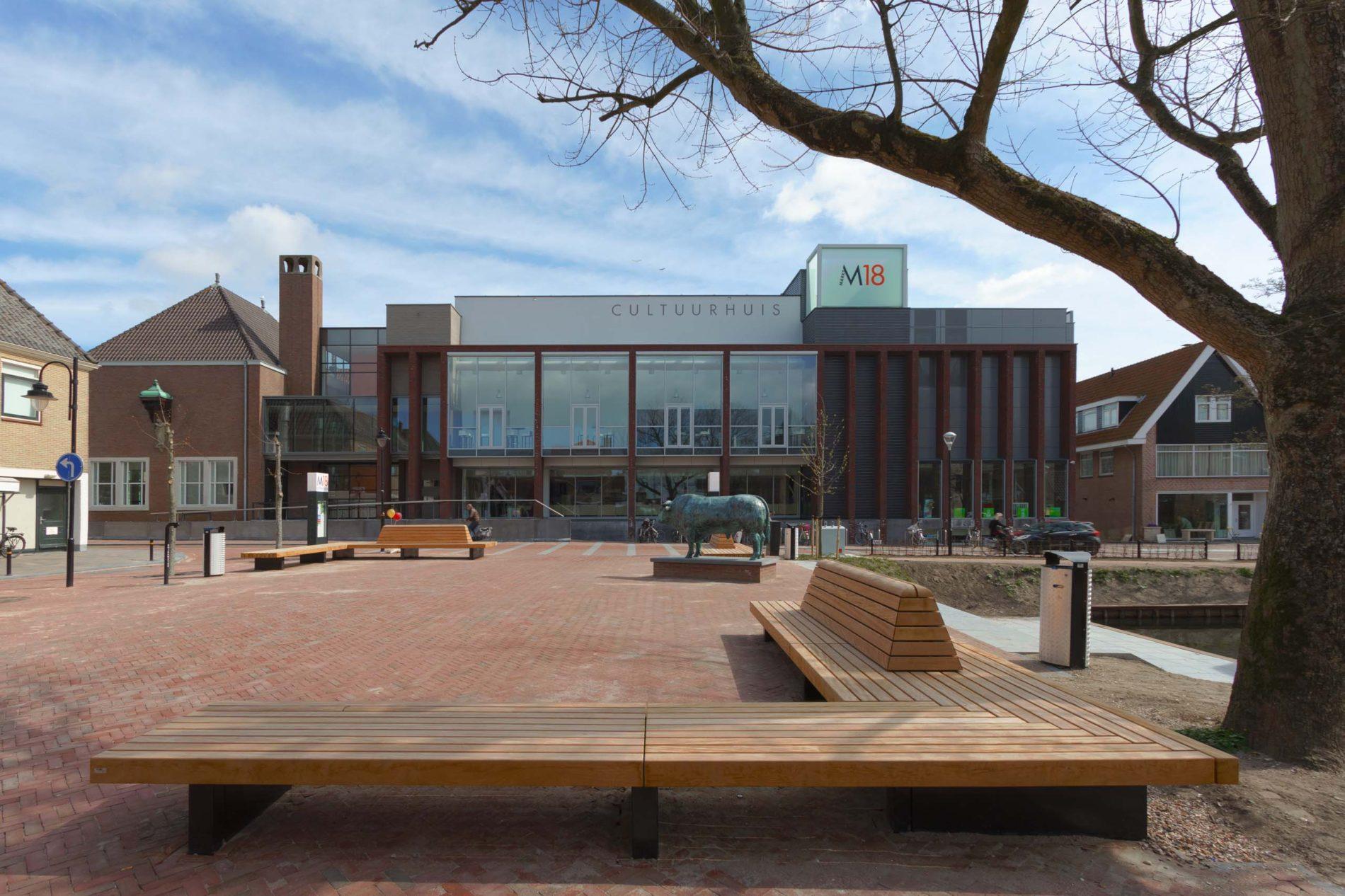architect Cultureel centrum Markt 18 Schagen BBHD architecten Alkmaar