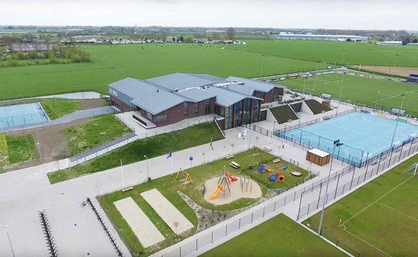 architect MFA multifunctionele accomodatie dorpshuis sporthal De Dres Nibbixwoud BBHD architecten