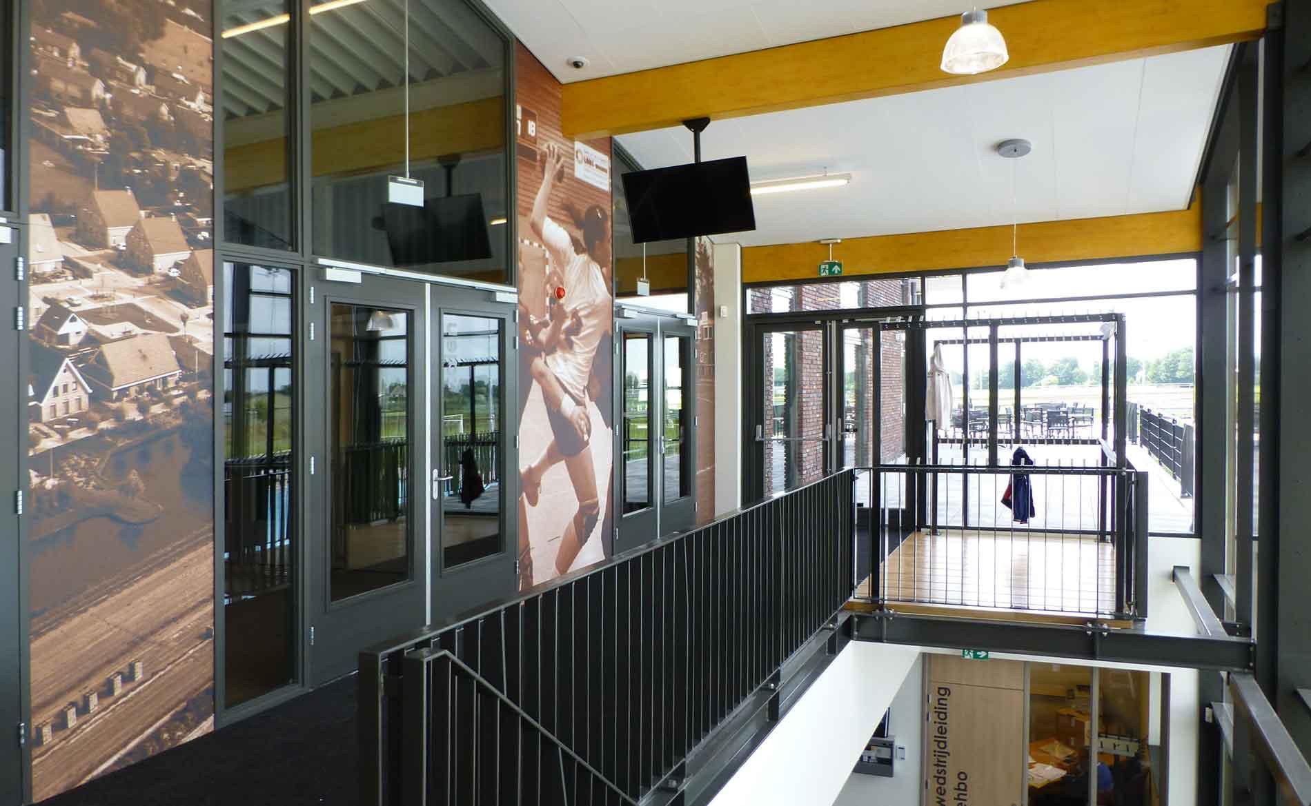 architect MFA multifunctionele accommodatie sporthal De Dres Nibbixwoud BBHD architecten