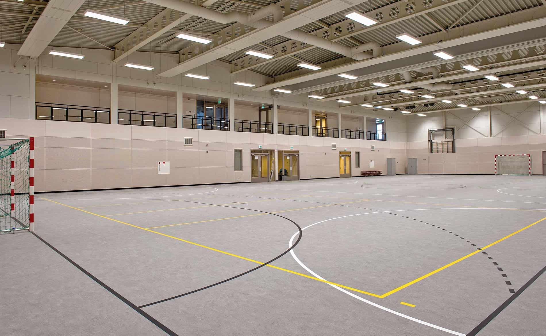 architect sporthal MFA multifunctionele sportaccommodatie De Dres Nibbixwoud BBHD architecten
