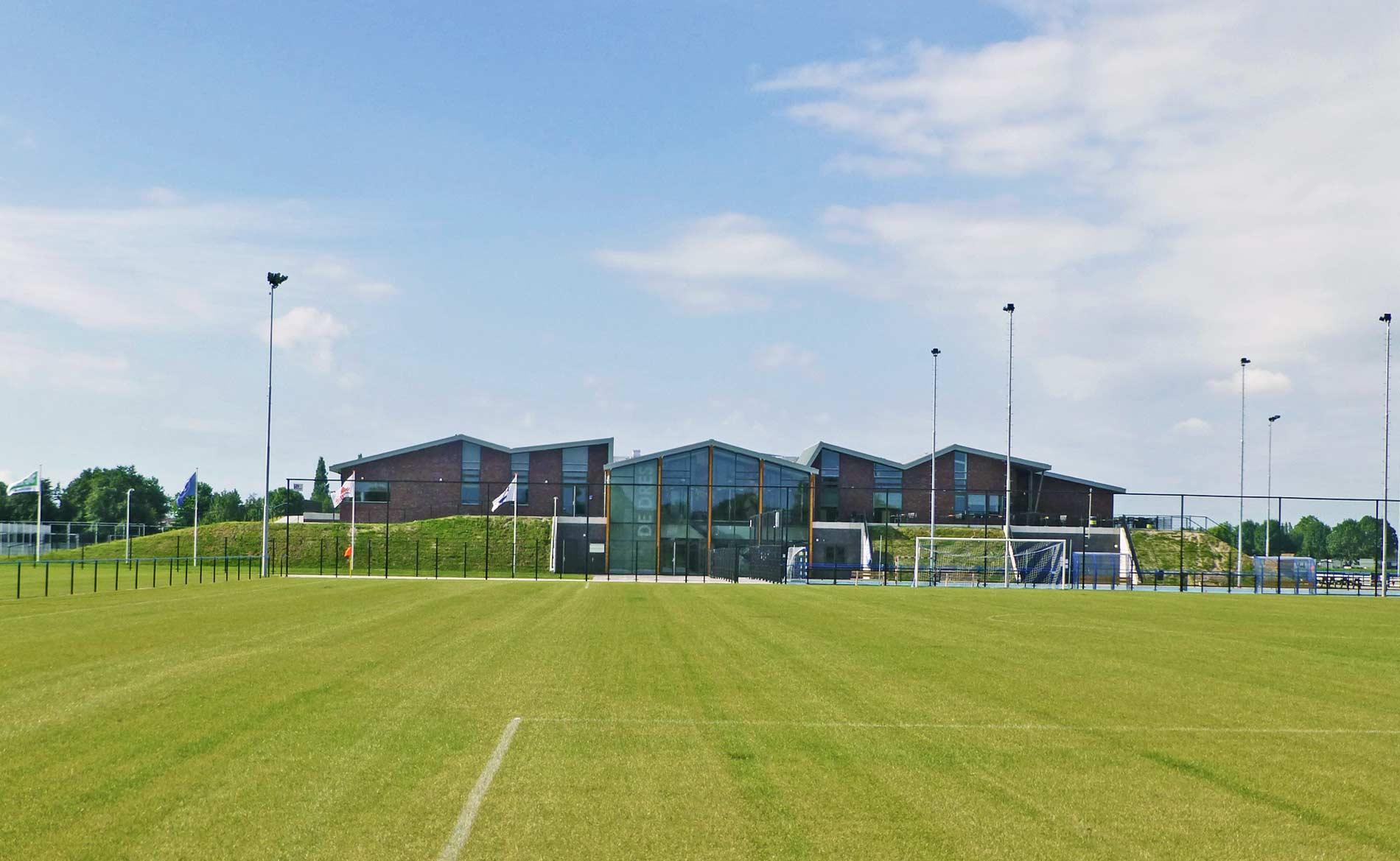 architect sport sporthal MFA multifunctionele accommodatie De Dres Nibbixwoud BBHD architecten