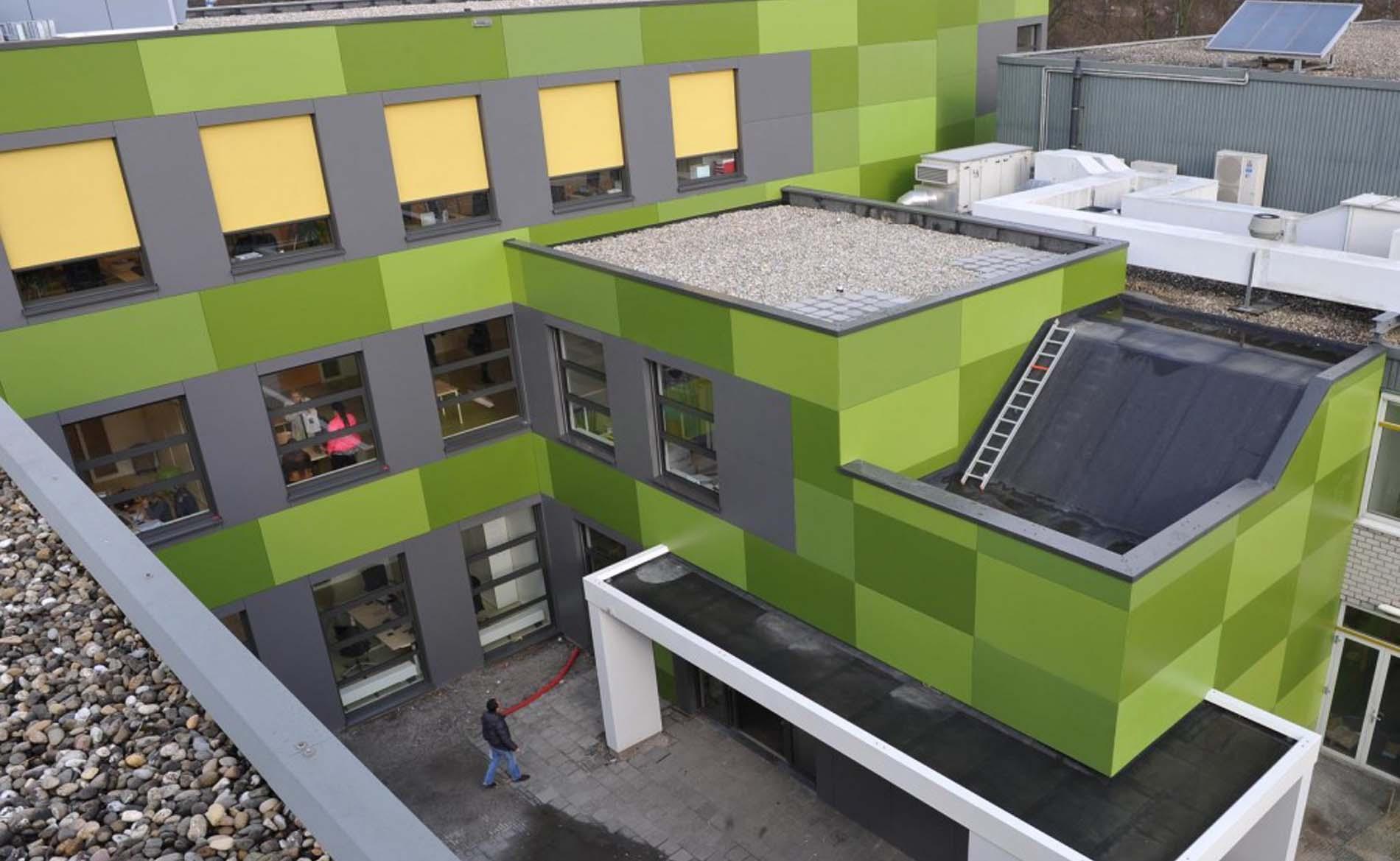 school architect mboRijnland BBHD architecten