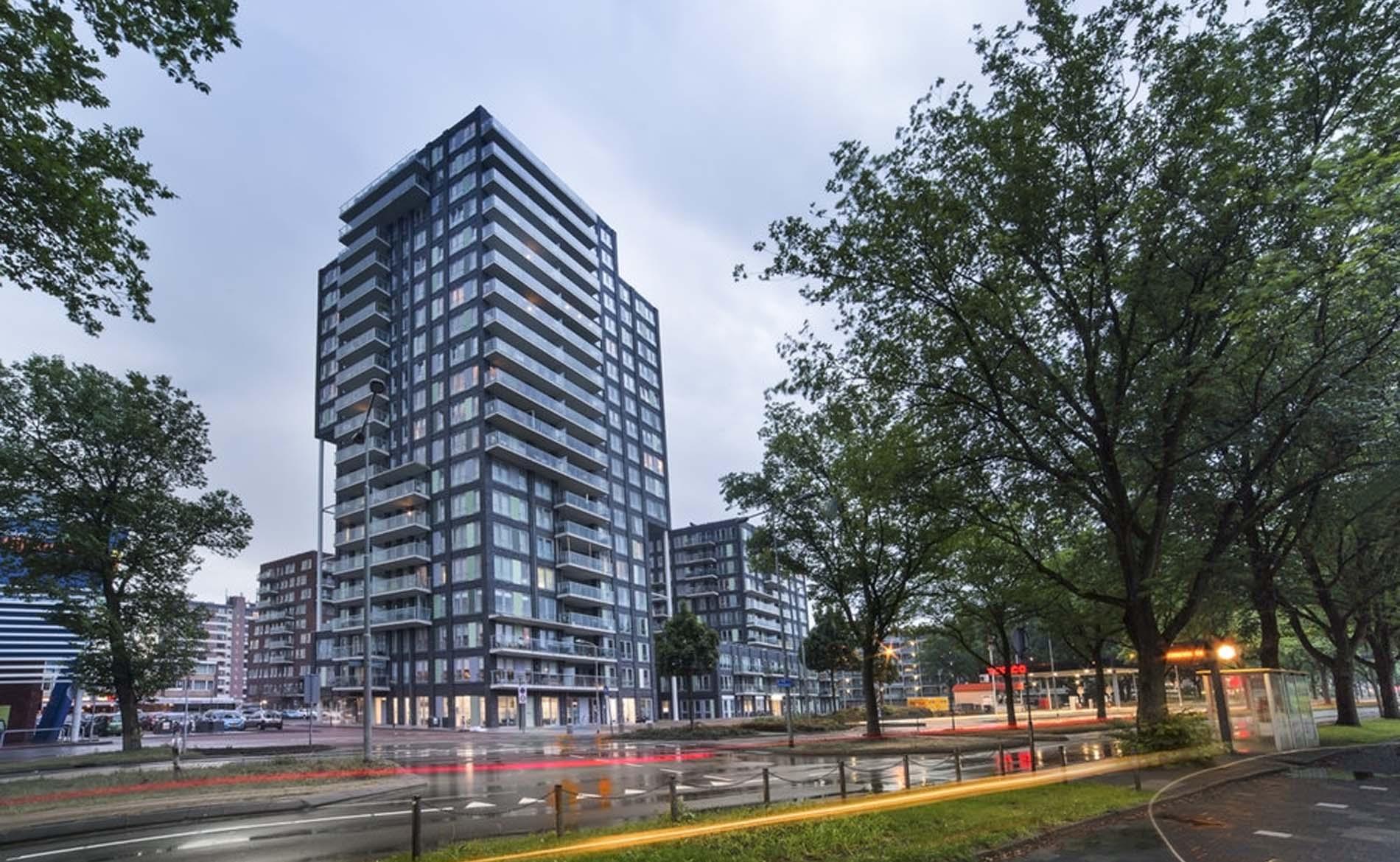 architect hoogbouw woningbouw appartementen woontoren herstructurering Wijkerbaan BBHD architecten
