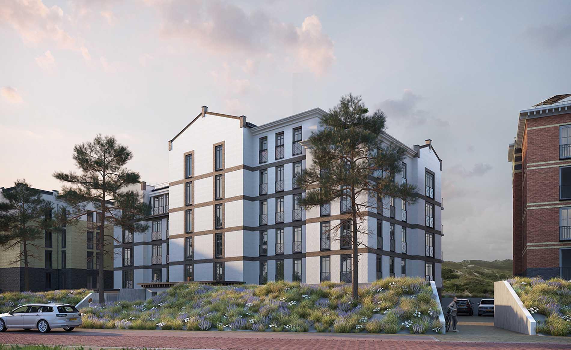 architect woningbouw appartementen architect kust architectuur Duingeest Monster BBHD architecten