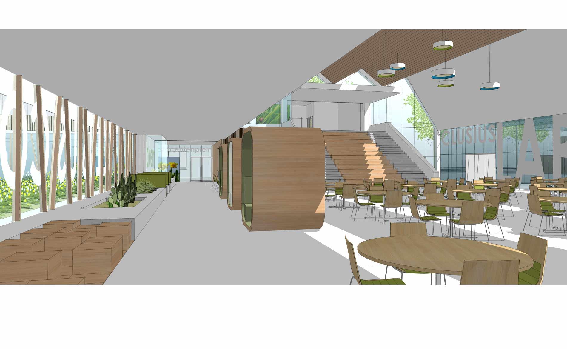 architect scholen schoolgebouw clusius college hoorn BBHD architecten
