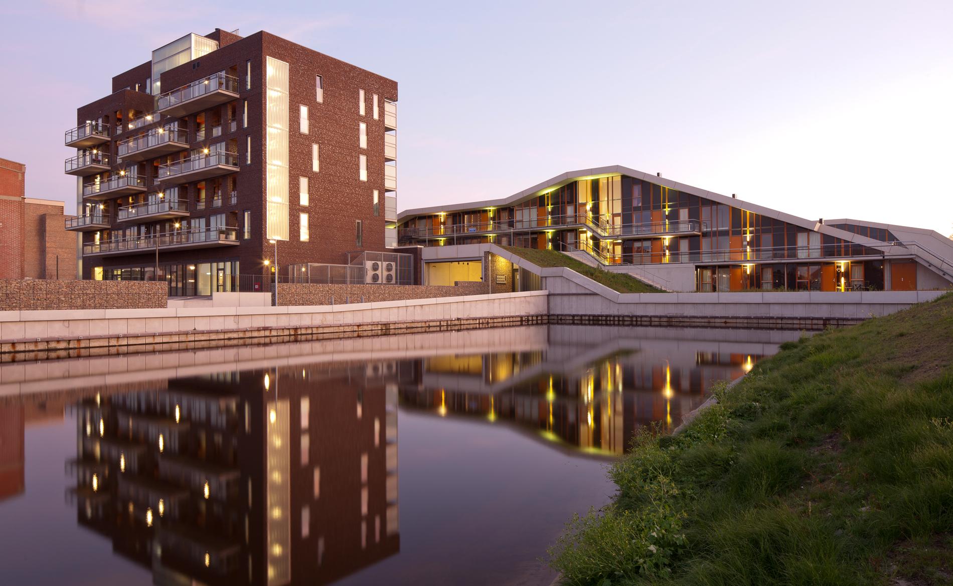 appartementen Duinpark den Helder BBHD architecten Alkmaar architectuur herstructurering