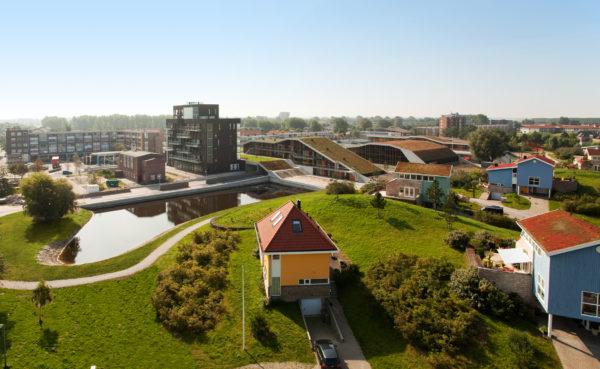 appartementen Duinpark den Helder BBHD architecten Alkmaar architectuur herstructurering landschappelijke inpassing