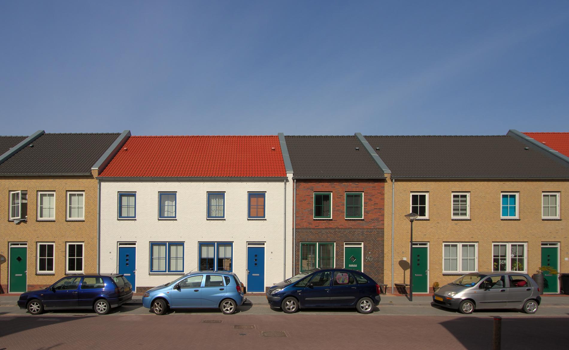 dorps bouwen architectuur wonen woningen Bangert & Oosterpolder Hoorn BBHD architecten Alkmaar