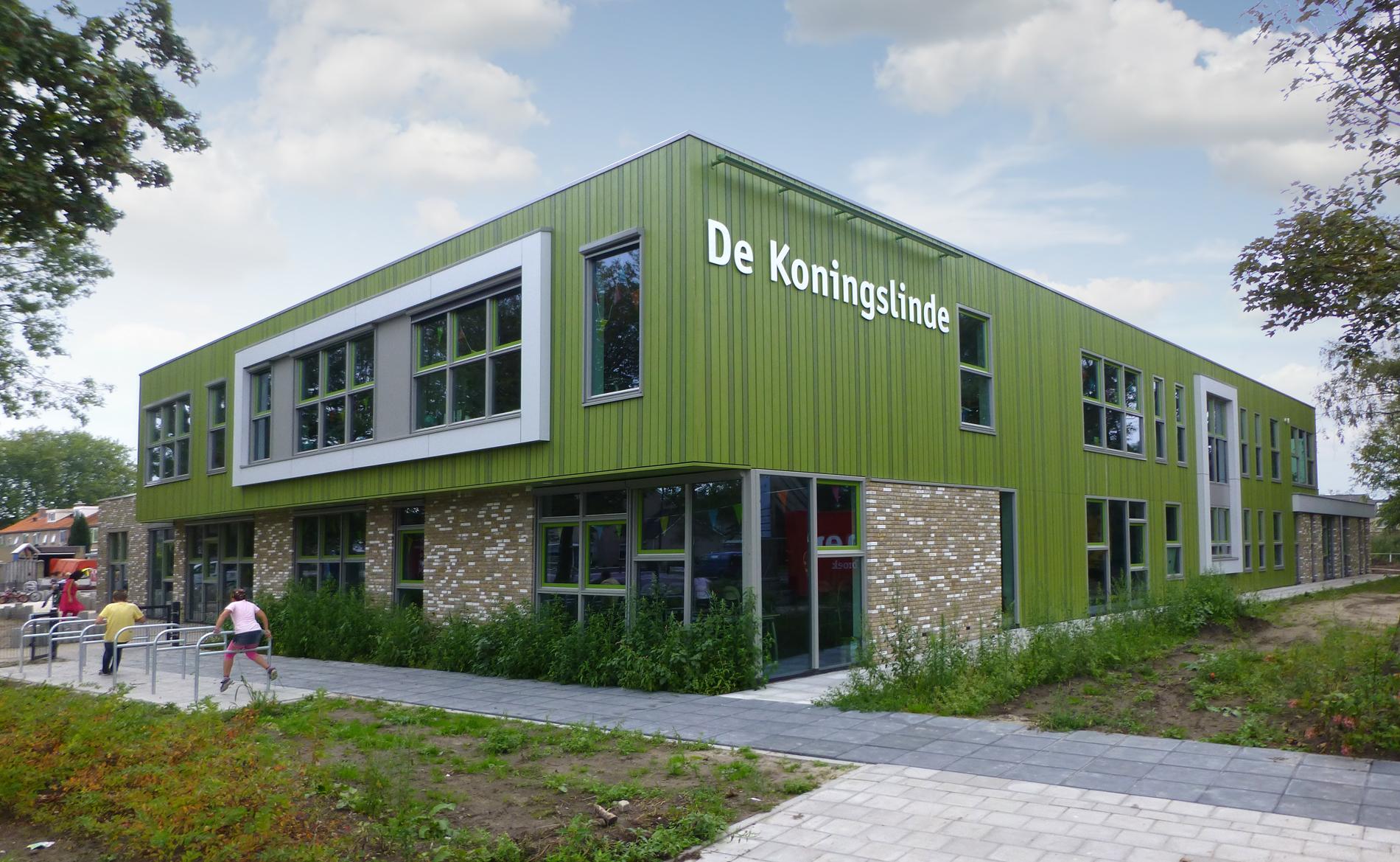 achitect scholen basisschool kinderopvang kinderdagverblijf BSO IKC De Koningslinde Nijkerk BBHD architecten
