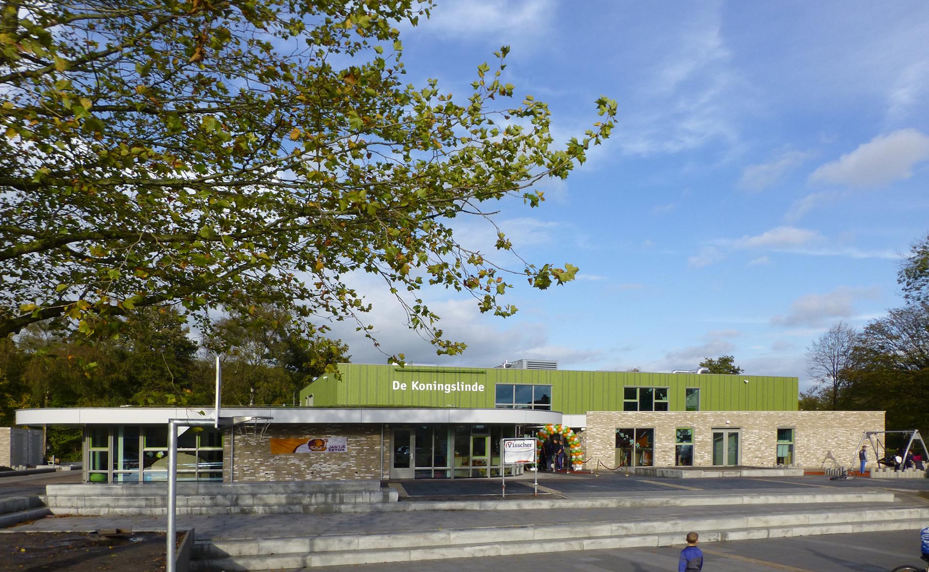 architect scholen basisonderwijs IKC De Koningslinde Nijkerk BBHD architecten Alkmaar