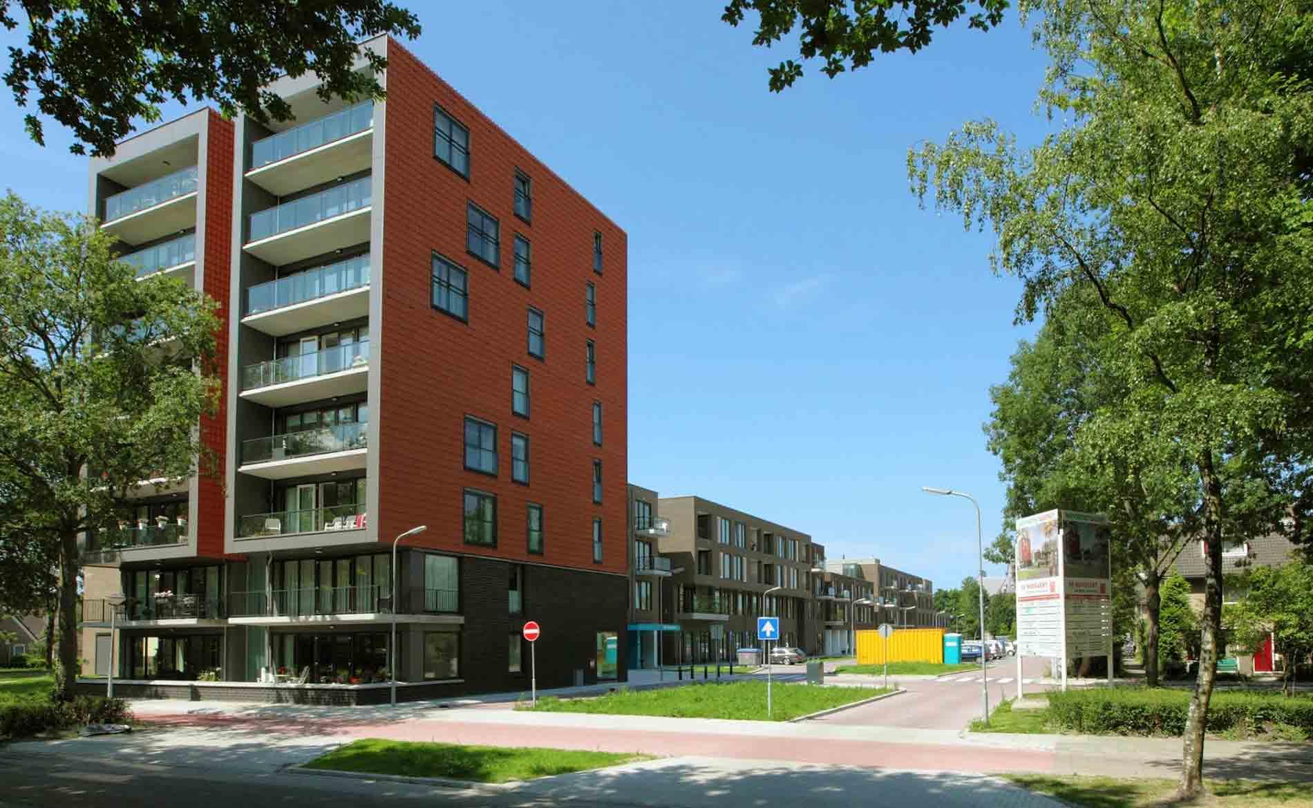 Woonzorggebouw De Boogaert Castricum BBHD architecten Alkmaar architectuur appartementen