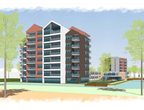 44 appartementen Amandelbloesem Wormerveer