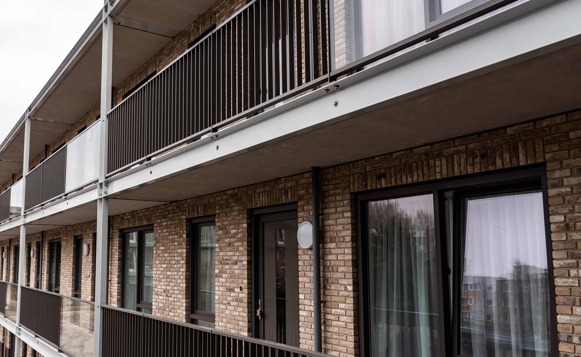 appartementen woningbouw woonzorgebouw woonzorgcentrum sociale huurwoningen seniorenhuisvesting De Kroon Alkmaar BBHD architecten
