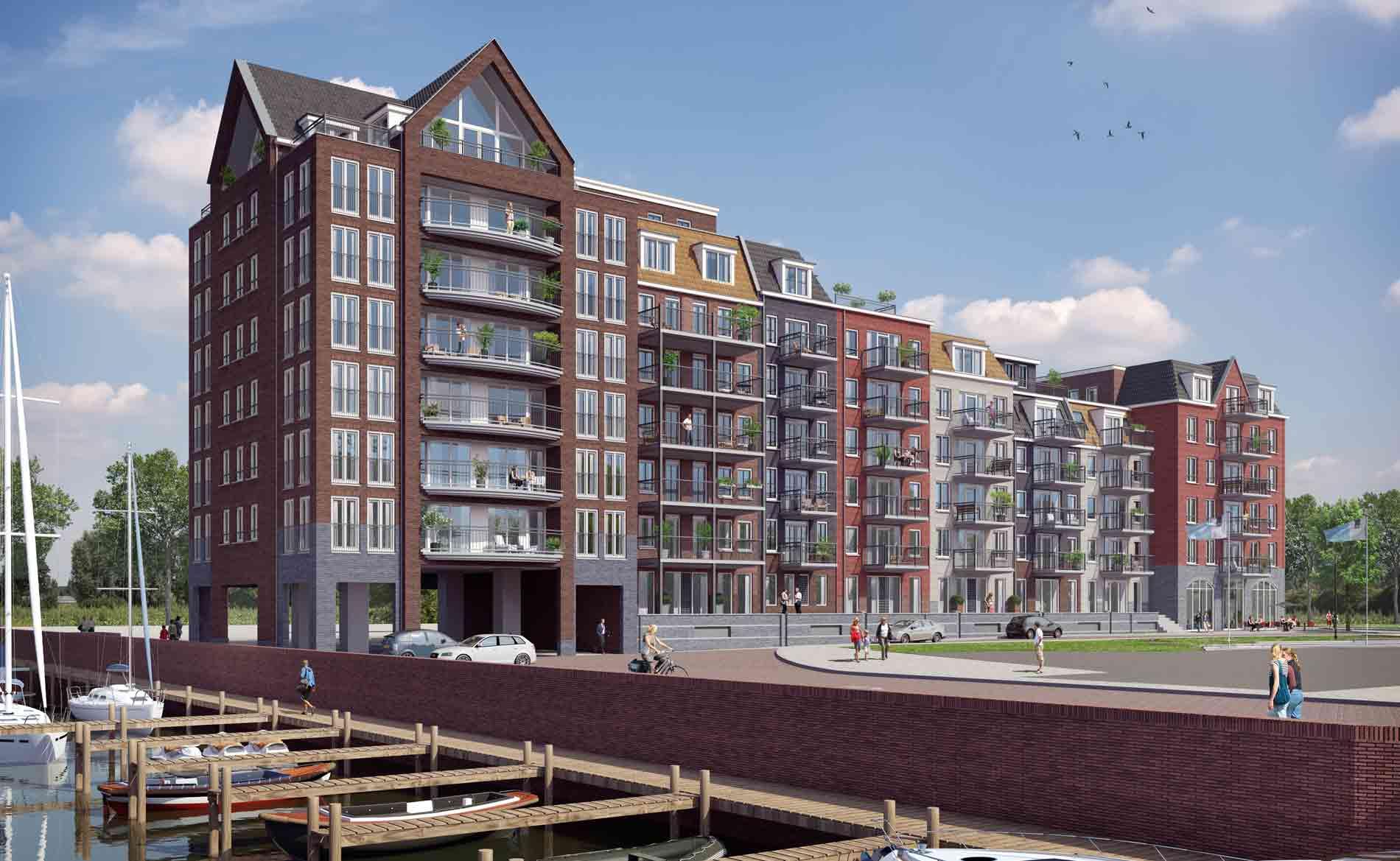 appartementen Havenkwartier Katwijk BBHD architecten