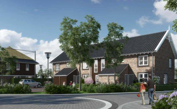 woningen Dorpshart Leimuiden BBHD architecten dorps bouwen architectuur landelijk traditioneel wonen