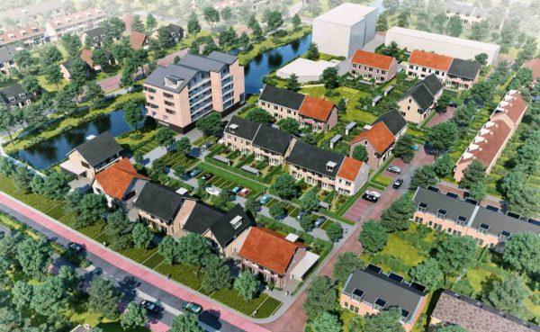 architect woningbouw woningen dorps bouwen dorps wonen herstructurering Simon van Haerlem Heemskerk BBHD architecten