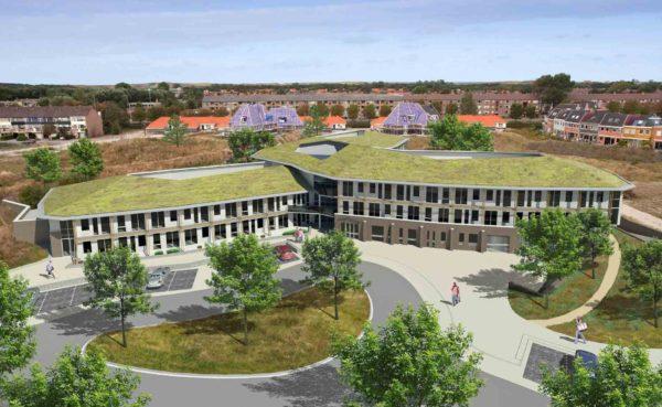 architect Verpleeghuis woonzorgcentrum woonzorgebouw De Zeester Den Helder BBHD architecten architectuur herstructurering zorg duurzaam