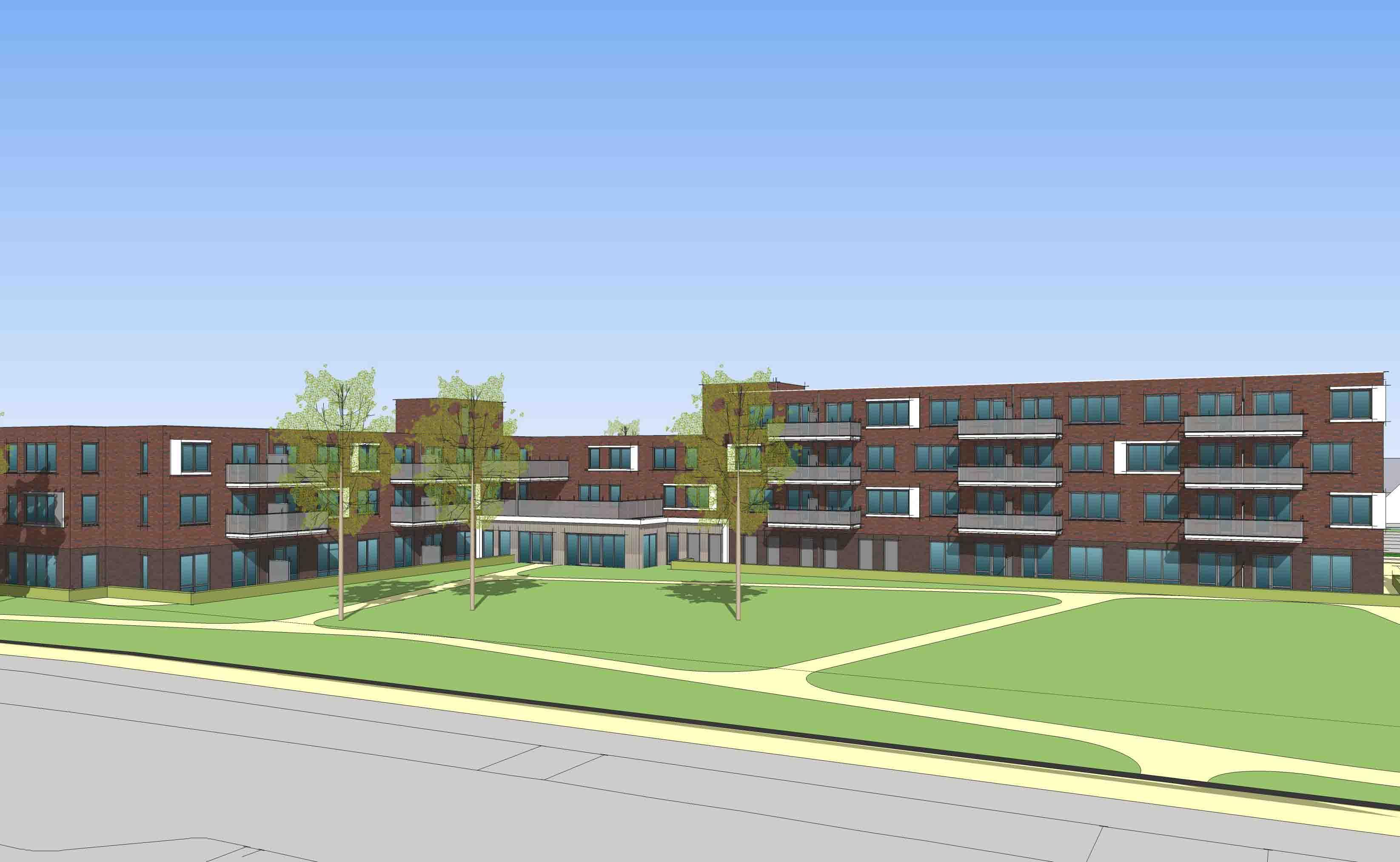 woonzorgcentrum Hugo-Waard Heerhugowaard senioren architectuur appartementen