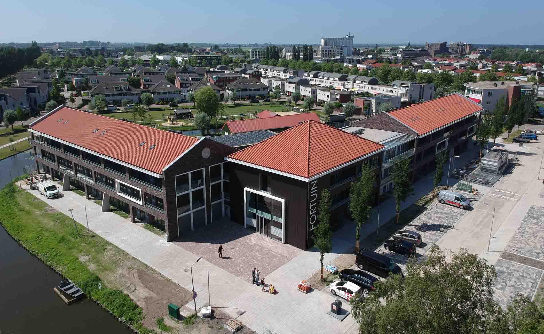 appartementen landelijk dorps energieneutraal woongebouw EPC=0 NOM duurzaam architectuur