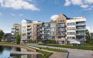 appartementen semi-bungalows moderne architectuur Uithoorn Regentes haven