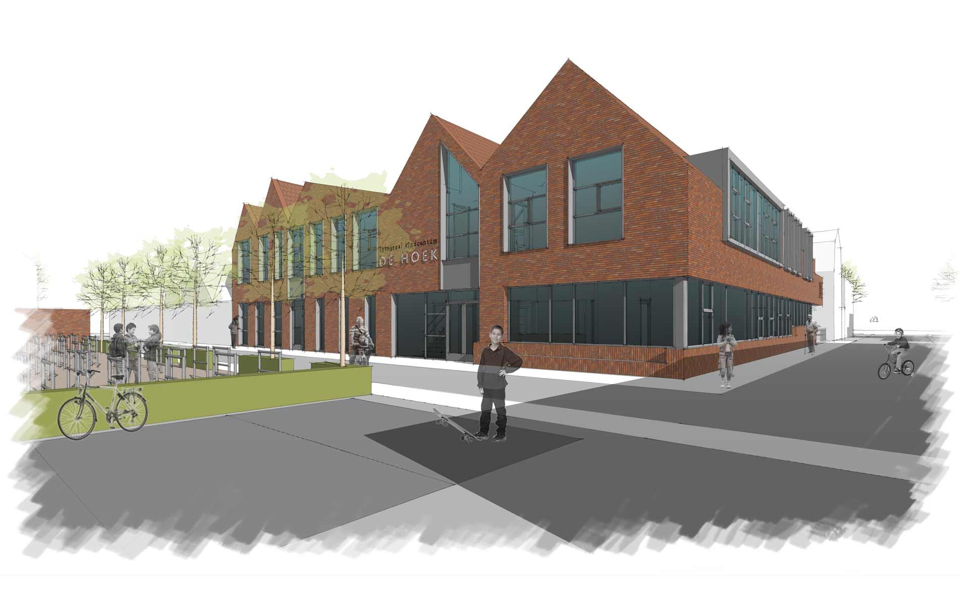 school IKC Binnenstad Enkhuizen De Tweemaster basisschool onderwijs architect