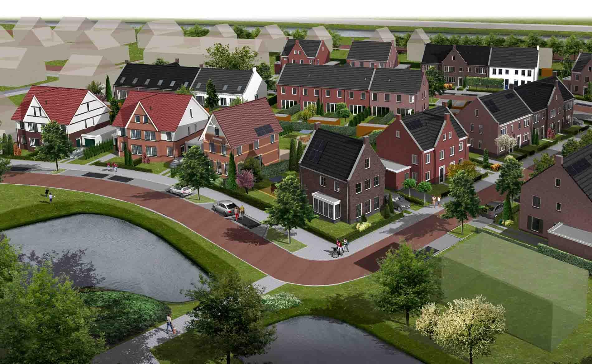 architect woningbouw dorpwonen Buitenplaats De Goorn BBHD architecten