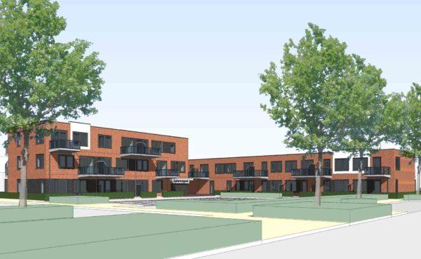 jongerenwoningen BENG Saturnusgeel Zoetermeer BBHD architecten