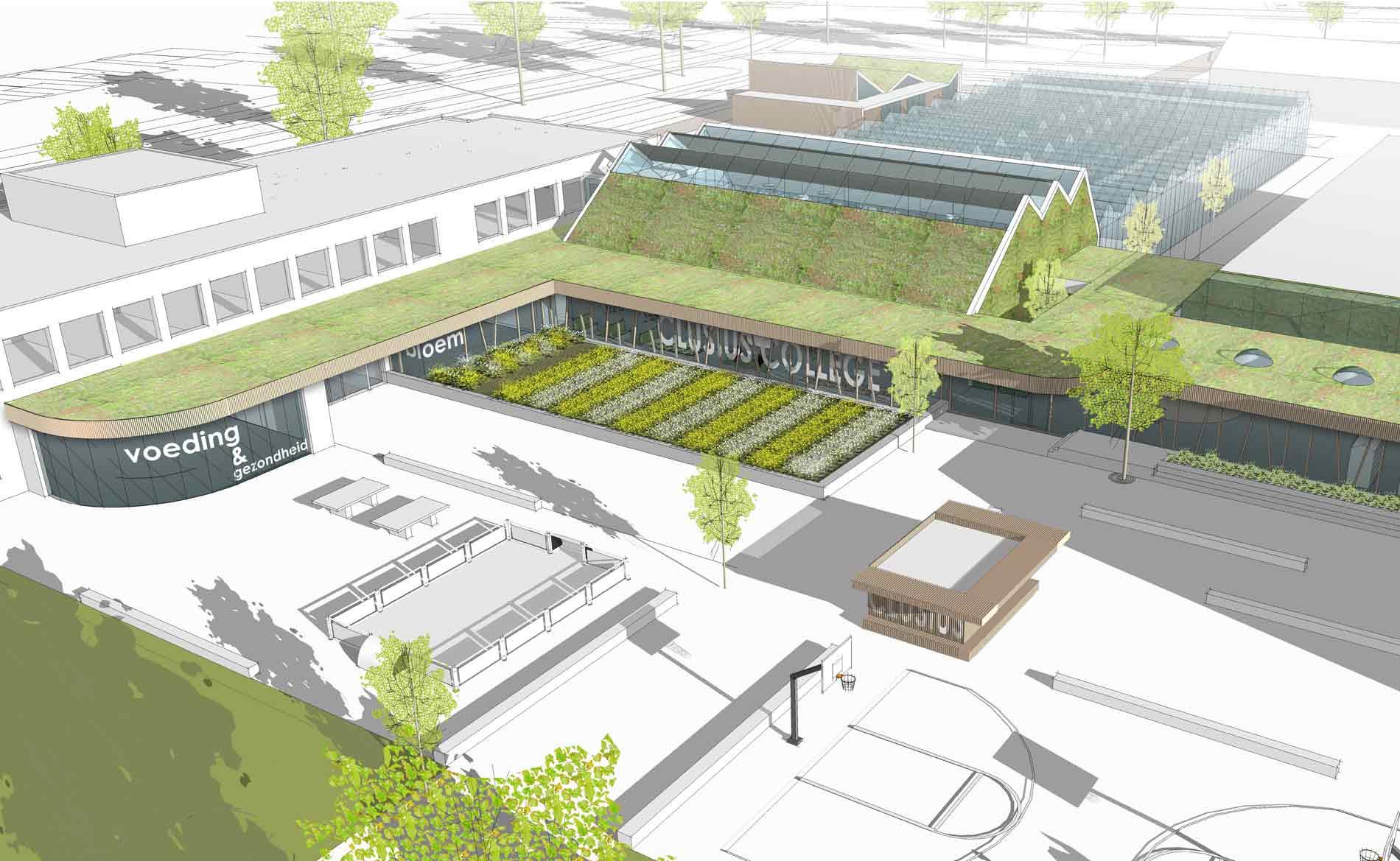 architect school onderwijs clusius college Hoorn BBHD architecten