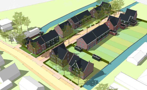 dorpswonen Twiske 3a Noordeinde Oostzaan BBHD architecten