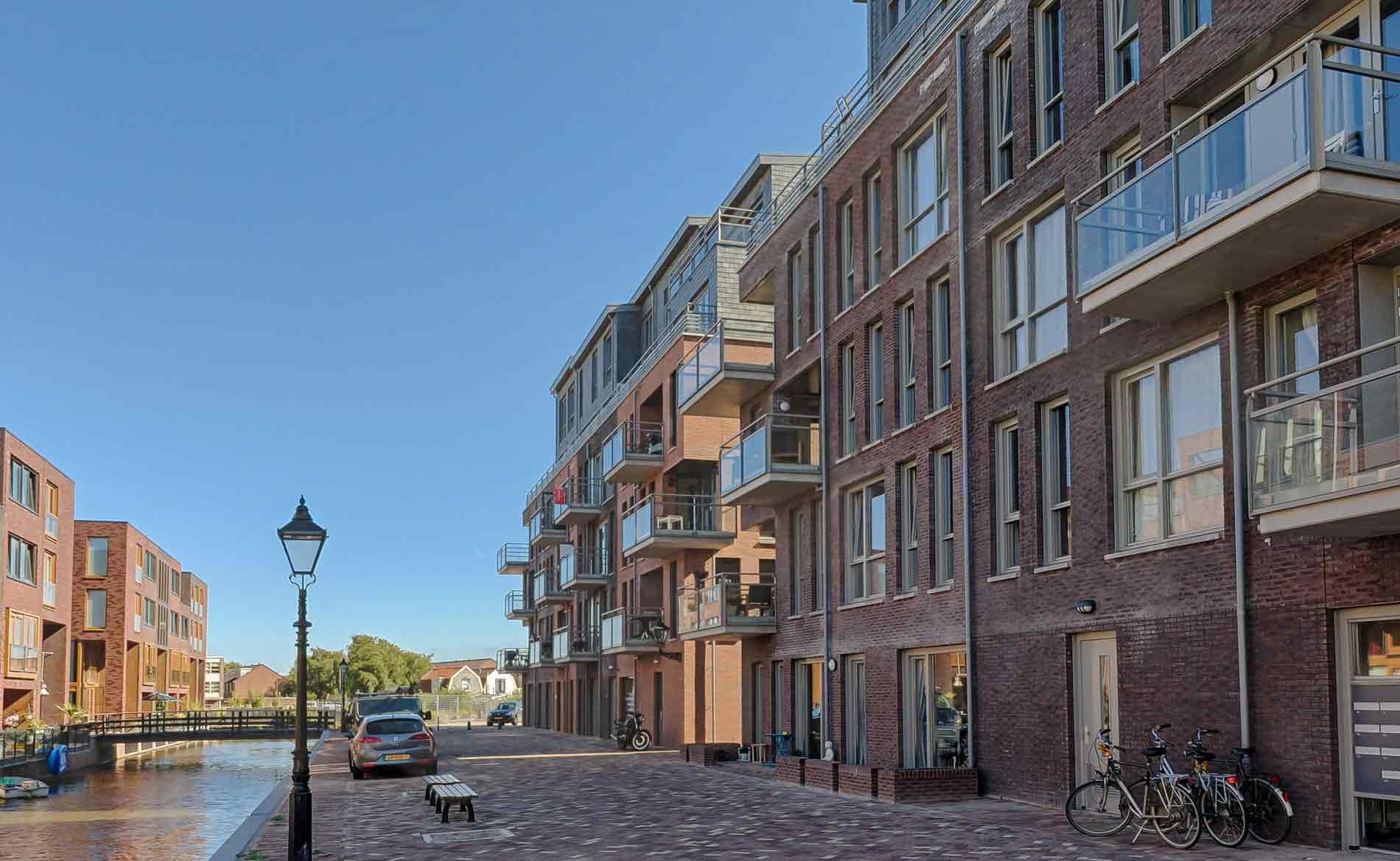 architect appartementen woningbouw Schelphoek Alkmaar BBHD architecten