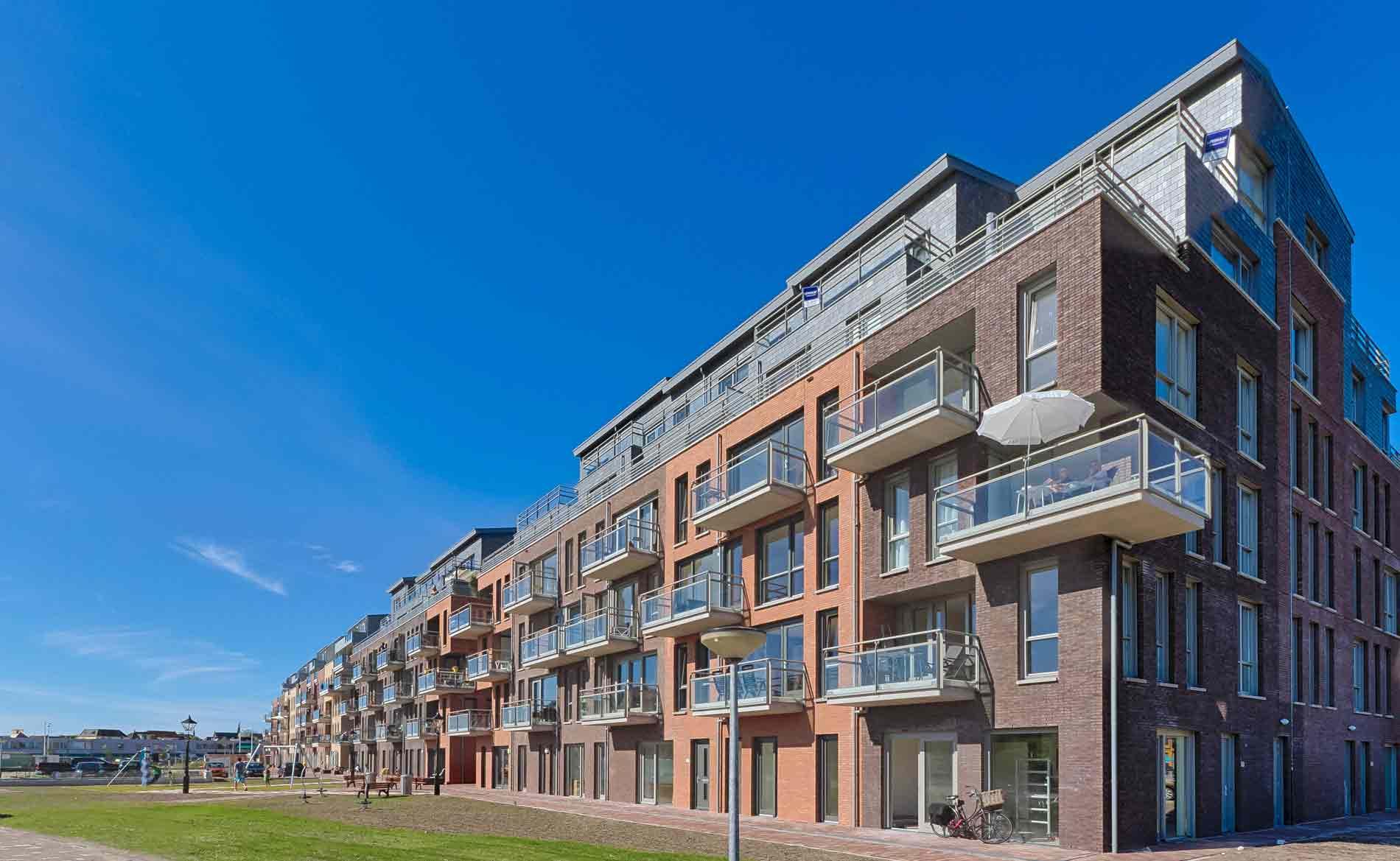 architect woningbouw appartementen Schelphoek Alkmaar BBHD architecten