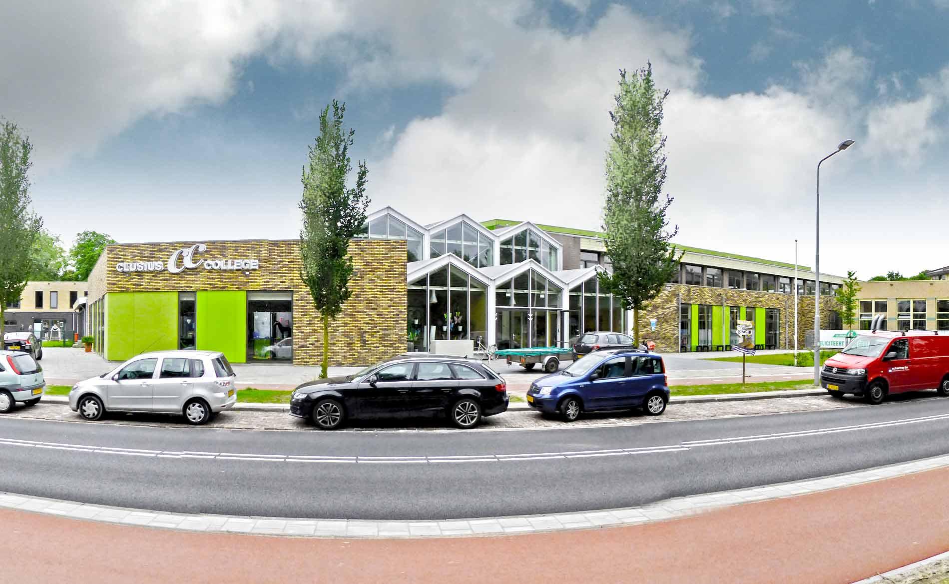 school VMBO onderwijs architect Clusius College BBHD architecten