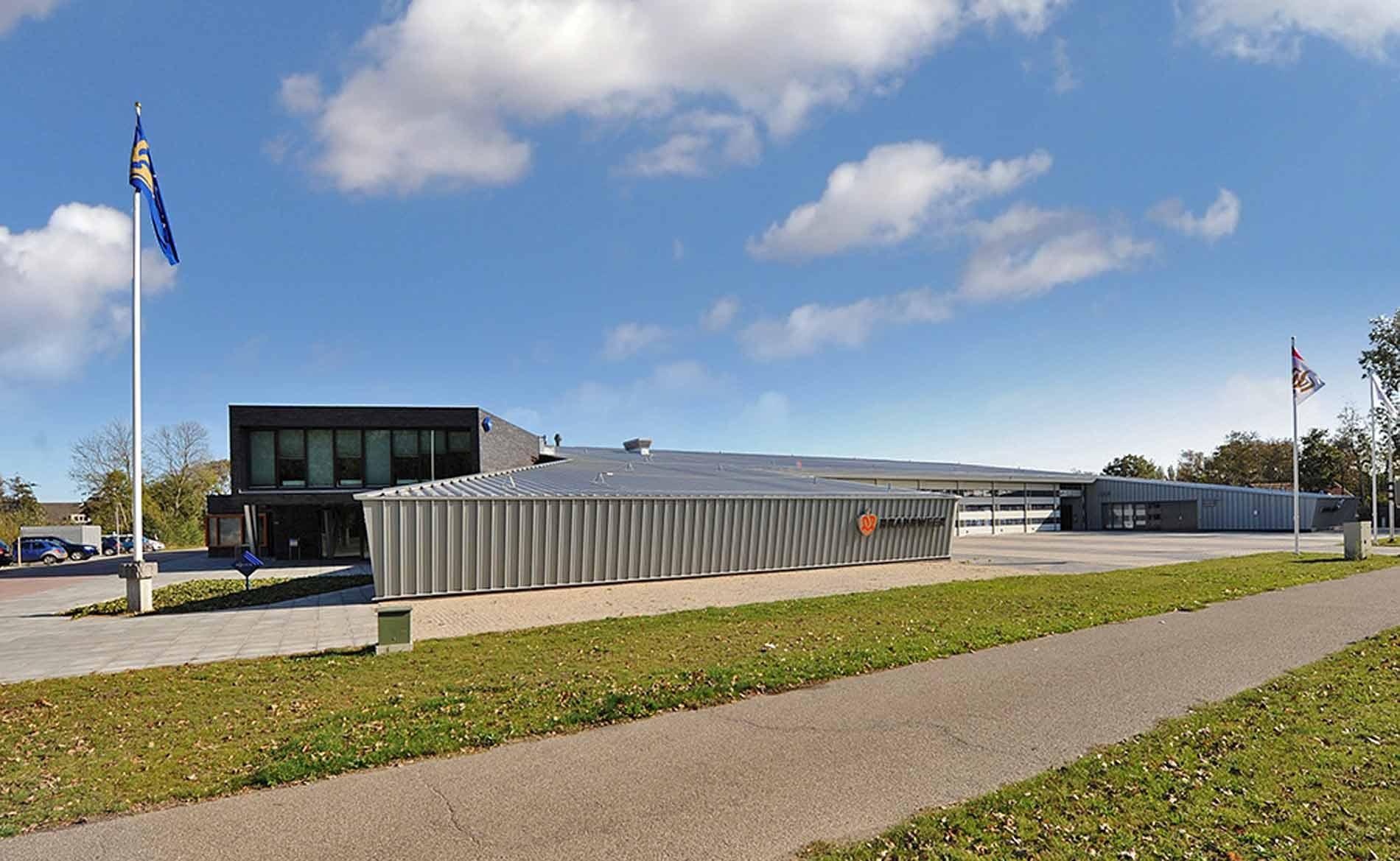 architect Hulpverleningscentrum brandweerkazerne De Zandkoog Den Burg Texel BBHD architecten